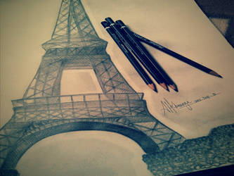 .:Eiffel Tower:. by Anonymous00Admirer