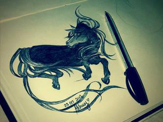 Le Wild Horse by Anonymous00Admirer