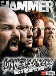 Metal Hammer cover Unholy by JamesHammer