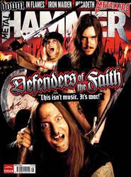 Metal Hammer cover DOTF by JamesHammer