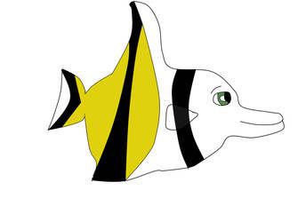 Harry as a Moorish Idol fish by heart8822