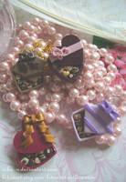Box 'o' Chocolate ring and pin by Nika-N