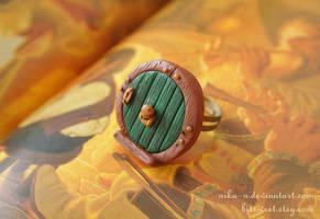 Hobbit Hole Door ring by Nika-N