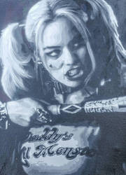 Suicide Squad Harley Quinn 11 layer test spray by NeverenderDesign