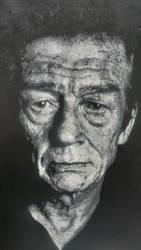 John Hurt by NeverenderDesign