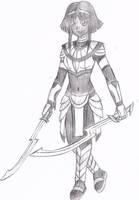 Aya Eshtar by xRagnaTheBloodedgex