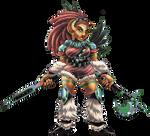 Tegwyn Saga: Mountainelf Blademaster by Shalmons