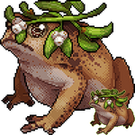 [C] mistletoad by Shalmons