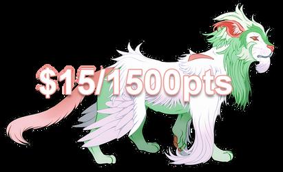 [FLATSALE] $15/1500 Feline Adopt #1 [CLOSED] by Shalmons