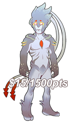 [FLATSALE] $15/1500pt Humanoid Adopt #2 [OPEN] by Shalmons