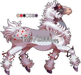 [FLATSALE] $20/2000 Equine Adopt #2 [CLOSED] by Shalmons