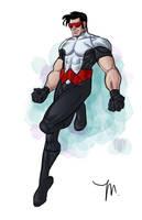 Wonderman Redesign by jessemunoz