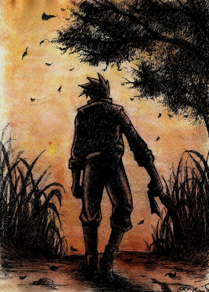 farewell kakashi by lotusbiru