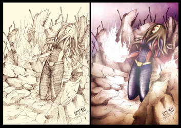 before and after by lotusbiru