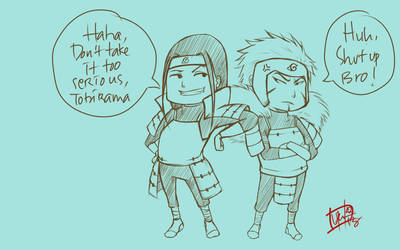 Senju Brothers - Sketch by lotusbiru