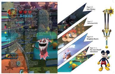 Game informer Magazine Page: 1-8 by mermaidfan