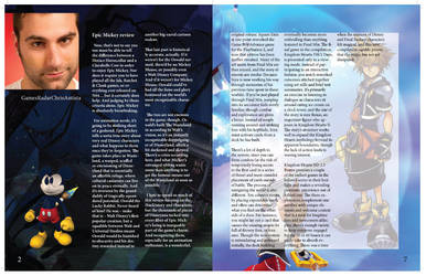 Game informer Magazine Page: 2-7 by mermaidfan