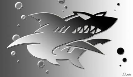 Shark by LittleBuu