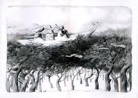 Dryad by shvayba