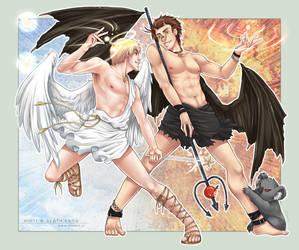 APH - Good vs. Evil - COM by alatherna