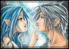 Rheno and Pola by alatherna