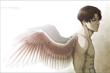 SNK - His wings - by alatherna