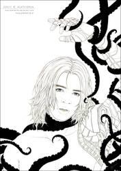 MCU - A Devil's Maker - lineart by alatherna