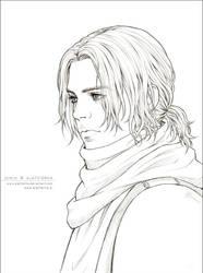 MCU - Winter - lineart by alatherna