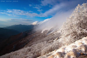A cold day in the mountain by ivancoric
