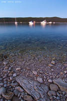 Calm evening in the bay by ivancoric