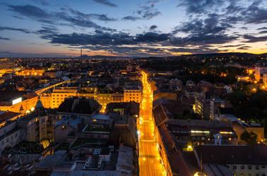 Zagreb by ivancoric