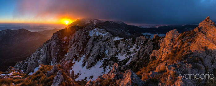 First snow this year by ivancoric