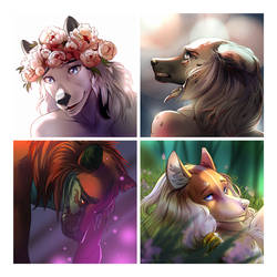 YCH icons by ThePakshi