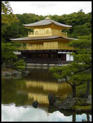 Golden Pavillion Kyoto by neubauten