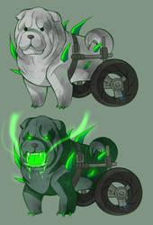 Toxic Doggo by Wowza-Wowzers