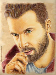 Jai Courtney by LadyPersephony