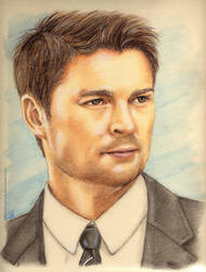 Karl Urban by LadyPersephony