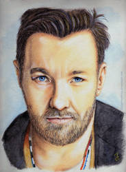 Joel Edgerton by LadyPersephony by LadyPersephony