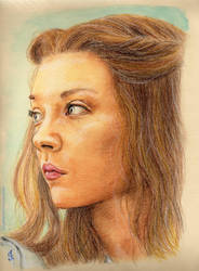 Margaery Tyrell by LadyPersephony by LadyPersephony