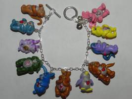 Care Bear Cousins Bracelet by Secretvixen