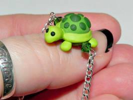 Chubby Turtle Necklace by Secretvixen