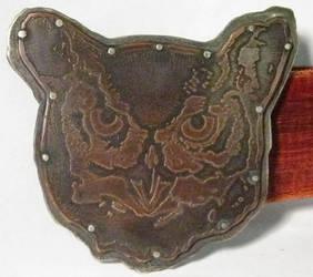 Owl Belt Buckle by lieandletdie