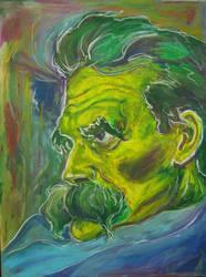 Friedrich Nietzsche by lieandletdie
