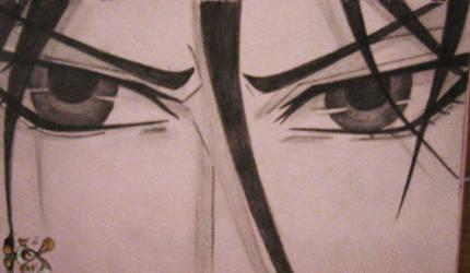 Sebastian Michaelis' eyes I. by O-W-L
