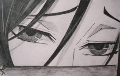 Sebastian Michaelis' eyes II. by O-W-L