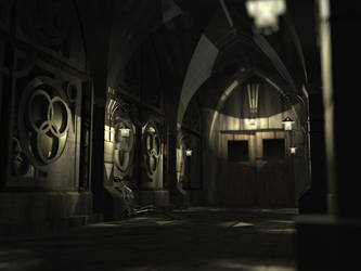 Running in Church by wintermute3001