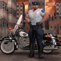 Officer Dave Brownfield by Orsus