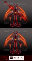 Magma Demon 1 pt SB AUCTION/CLOSED by blackorb00