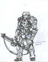 Heavy Support gunner Concept by WMDiscovery93