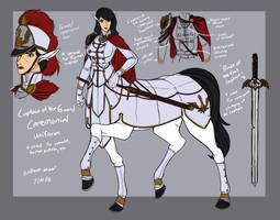 Aurelie Devoue Ceremonial Uniform concept by WMDiscovery93
